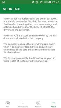 Nuuk Taxi poster