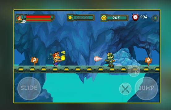 Crash Jungle Adventure World Games screenshot 1