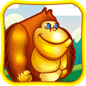 Jungle Curious Kong George icon
