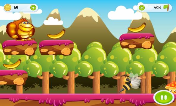Jungle Curious Kong George apk screenshot