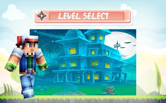 Craft Pixelmon Adventure Rush apk screenshot