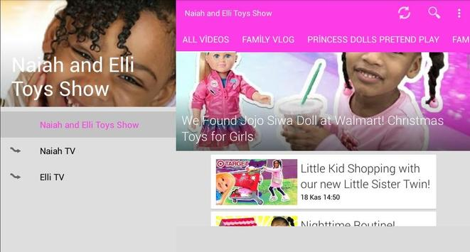 Naiah and Elli Toys Show screenshot 10