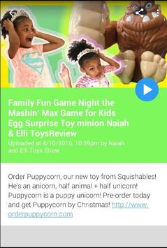 Naiah and Elli Toys Show screenshot 3