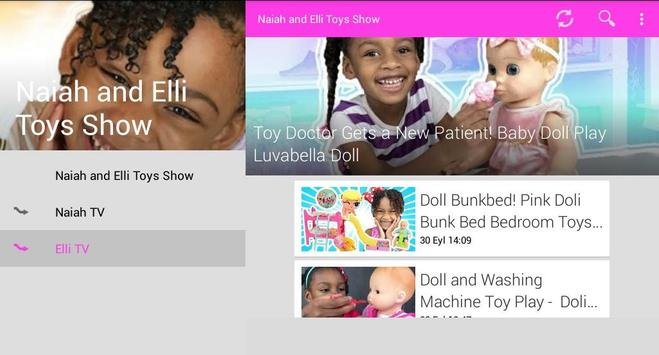 Naiah and Elli Toys Show screenshot 8
