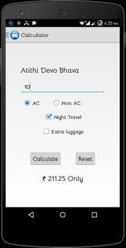 Delhi Taxi Fare Calculator poster