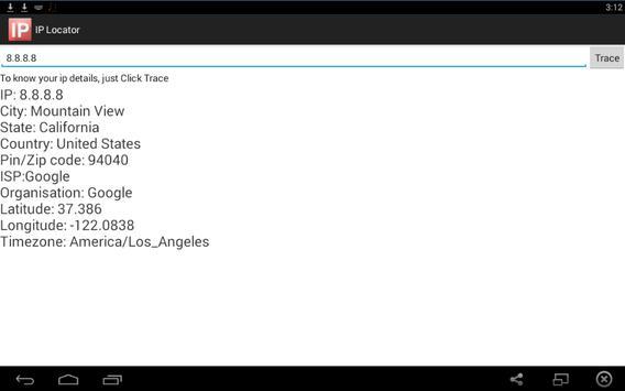IP Locator screenshot 1