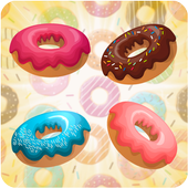 Donuts Catch and Match icon