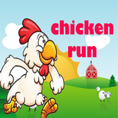 Chicken Run And Jump icon