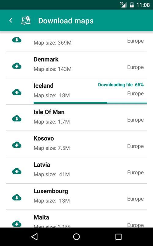 how to download offline maps on mac
