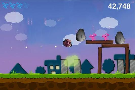 Toss With The Fun Blue Dog apk screenshot
