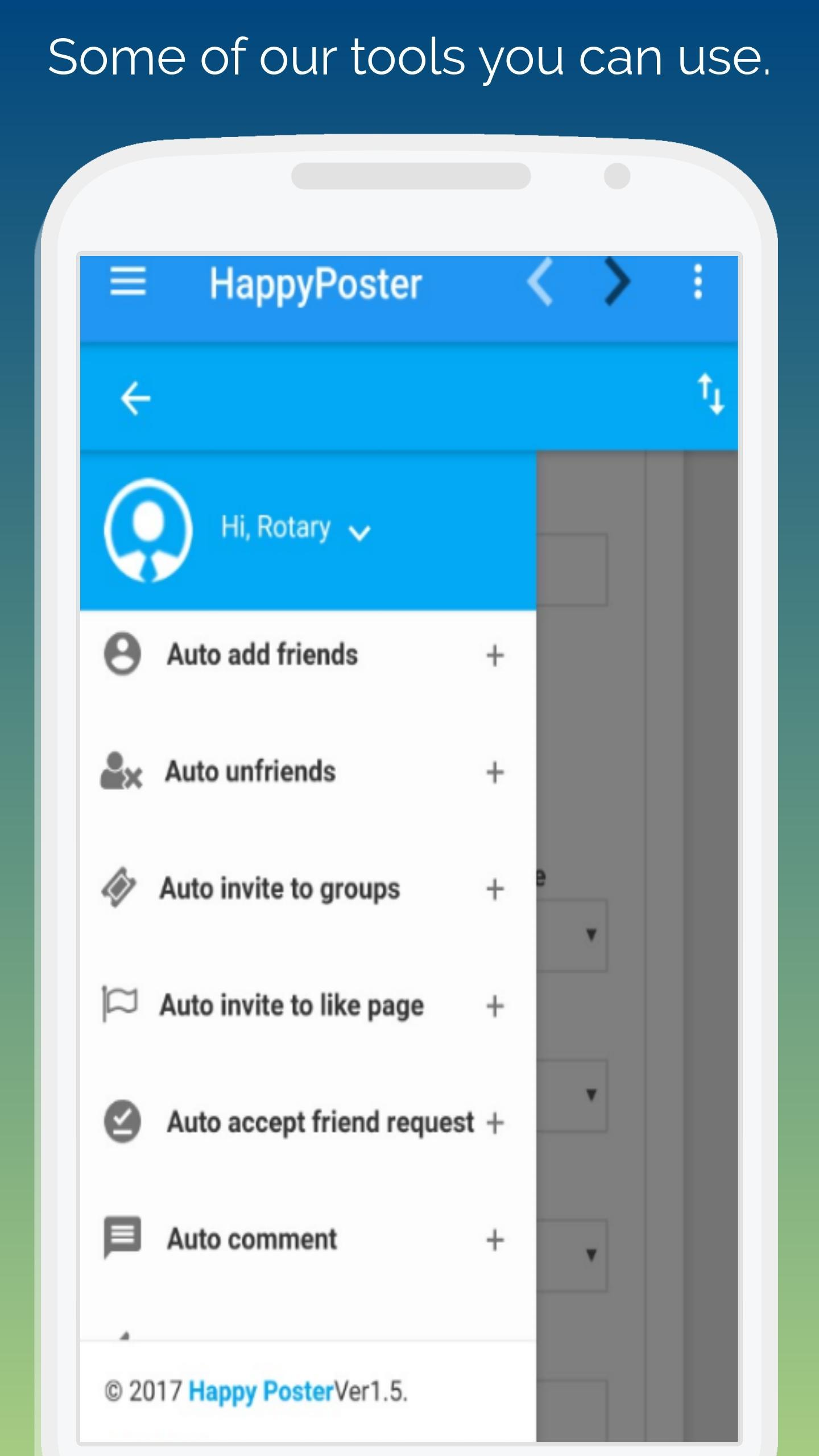 Post Management Tool - Auto Group Poster for Android - APK