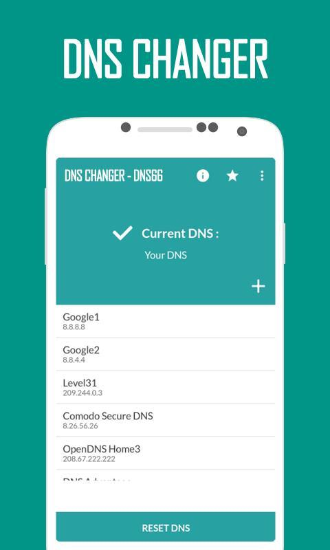 DNS66 - DNS Chager 2018 for Android - APK Download