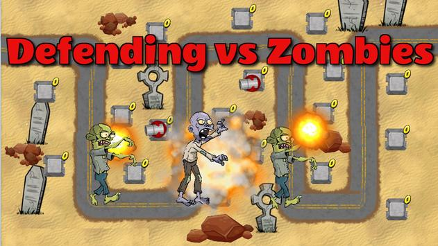 Defending Against Zombies apk screenshot