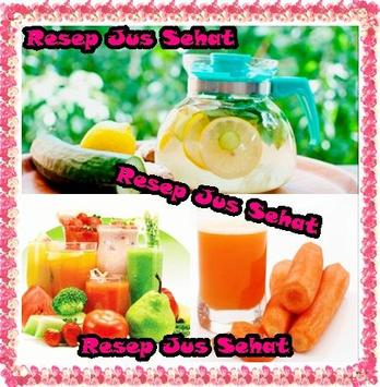 Resep Jus Sehat poster