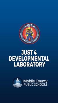 Just 4 Developmental Laboratory poster