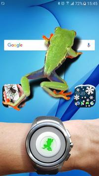 Frog walking on screen joke screenshot 6