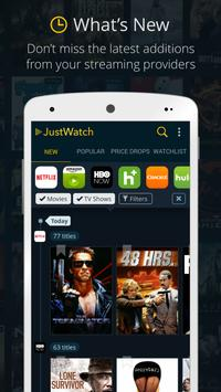 JustWatch - Search Engine for Streaming and Cinema poster