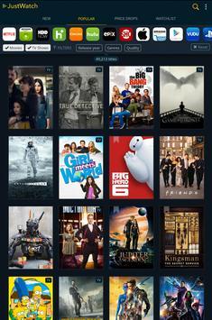 JustWatch - Guide for Cinema, Netflix, Hulu & more apk screenshot