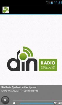 Din radio poster