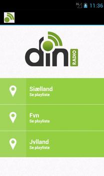 Din radio screenshot 1