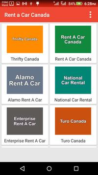 Rent a Car Canada apk screenshot