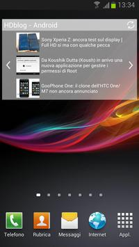 HDblog apk screenshot
