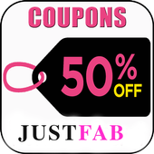 Coupons for Justfab icon