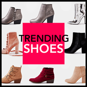 Trending Shoes : women boots icon