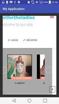 Justfortheladiesdating.com- Free Dating App screenshot 2