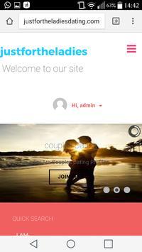 Justfortheladiesdating.com- Free Dating App screenshot 6