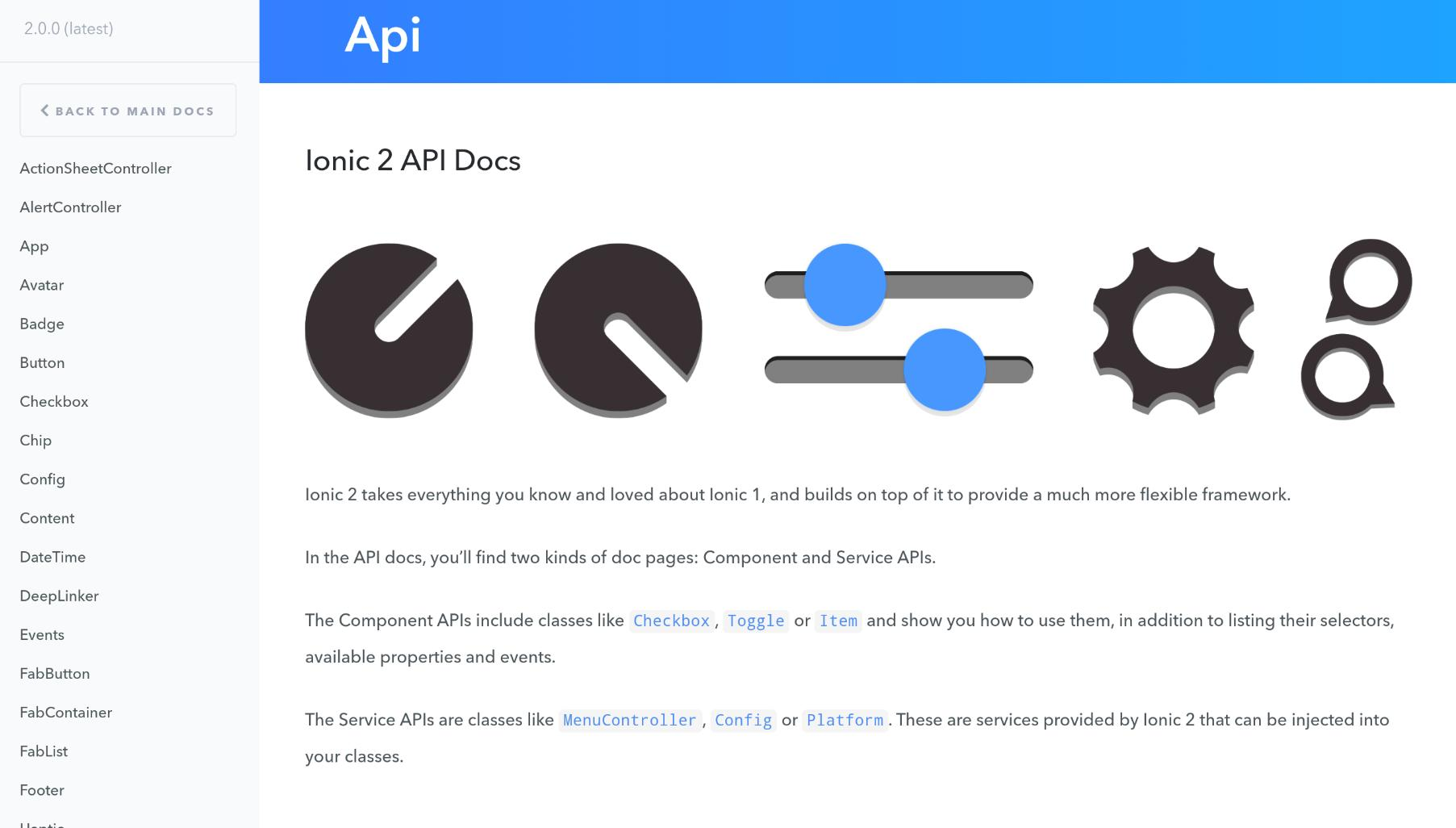 Ionic 2 Docs for Android - APK Download
