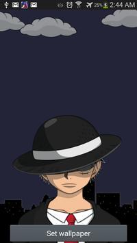 Mafia Anime Wallpaper Cracked! poster