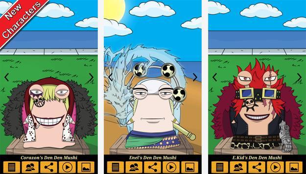 Den Den Mushi Anime Caller ID apk screenshot