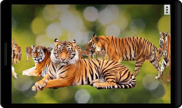 4D Tiger Live Wallpaper apk screenshot