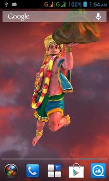 3D Hanuman Live Wallpaper apk screenshot