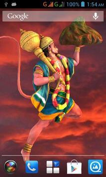 3D Hanuman poster