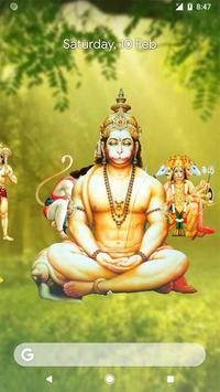 4D Hanuman Live Wallpaper apk screenshot