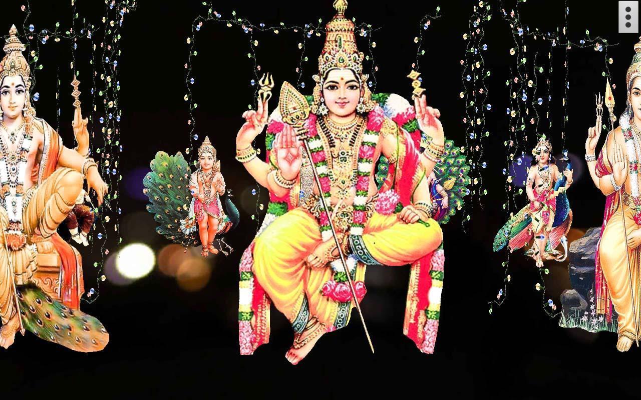 4d lord murugan live wallpaper apk download free