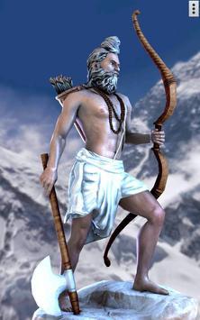 3D Parshuram poster