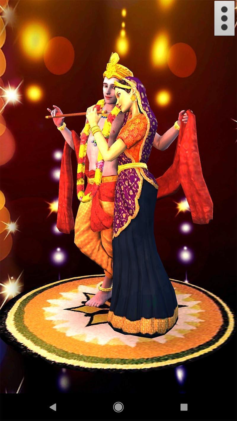 3D Radha Krishna Live Wallpaper for ...
