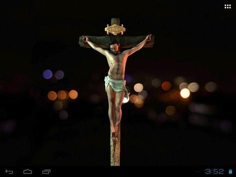 3D Jesus Christ Live Wallpaper Apk Screenshot