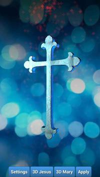 Holy Cross 3D Live Wallpaper Poster