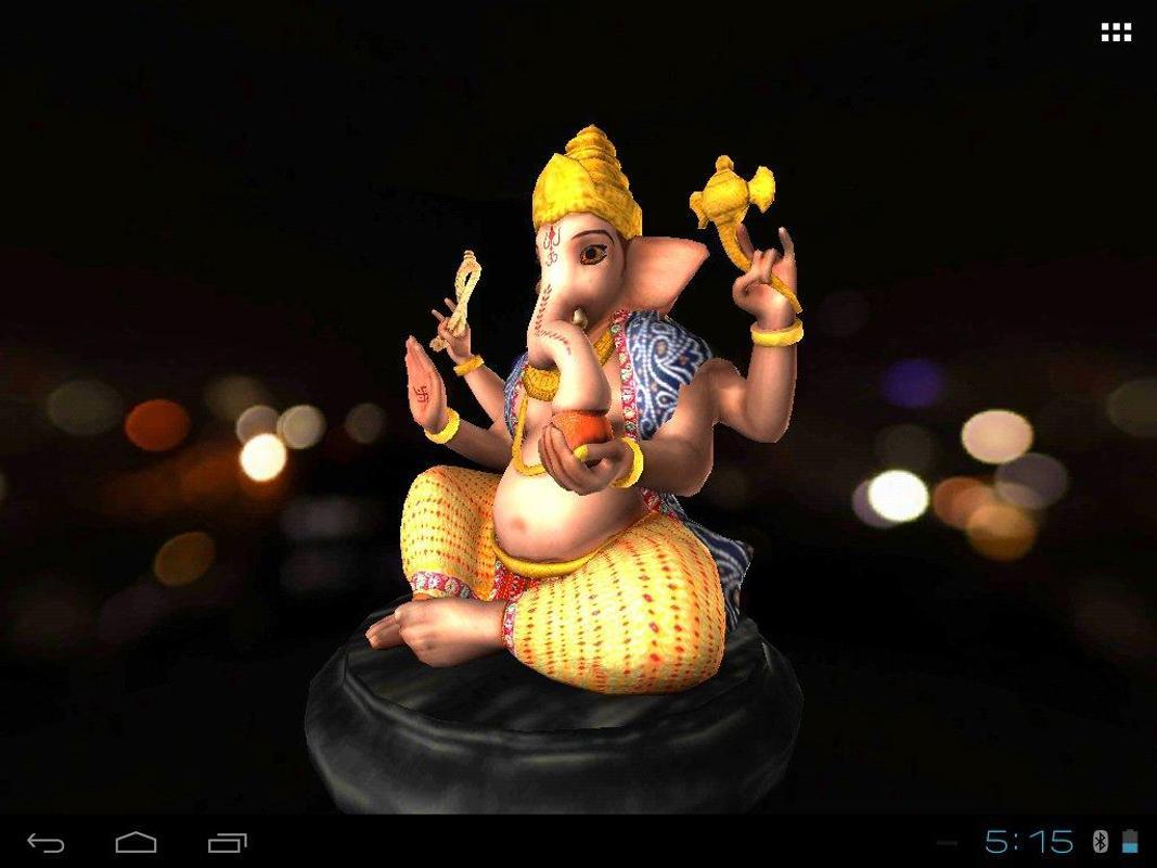 3D Ganesh Live Wallpaper APK Download