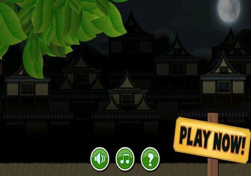 Clamsy Run Ninja Game apk screenshot