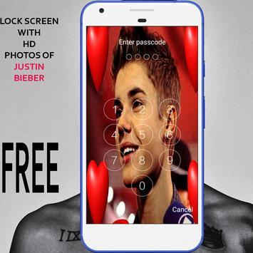 Lock Screen For Justin bieber screenshot 6