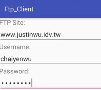FtpClient poster