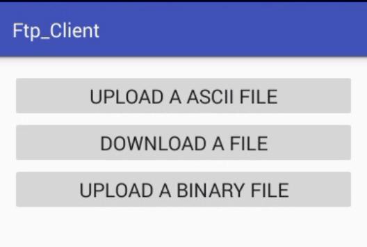 FtpClient apk screenshot