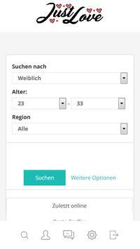 kostenlose partnersuche in Österreich - JustLove screenshot 4