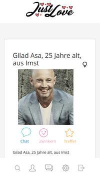 kostenlose partnersuche in Österreich - JustLove screenshot 1