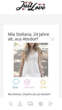 kostenlose partnersuche in Österreich - JustLove screenshot 2